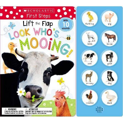 Look Who's Mooing! - by Scholastic Early Learners & Scholastic Inc. (Hardcover)