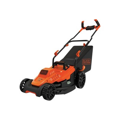 Black & Decker BEMW472BH 120V 10 Amp Brushed 15 in. Corded Lawn Mower with Comfort Grip Handle