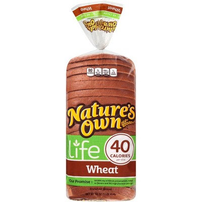 Nature's Own Life Wheat Bread - 16oz
