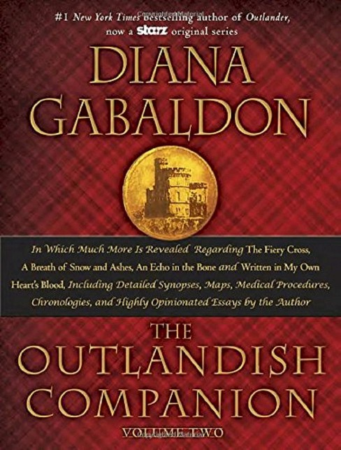 Outlandish Companion : The Companion to the Fiery Cross, a Breath of Snow and Ashes, an Echo in the - image 1 of 1