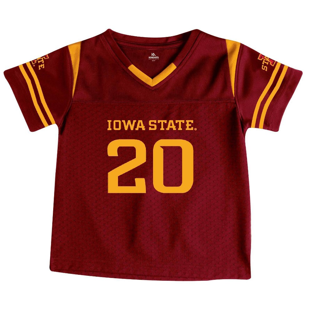 Ncaa Iowa State Cyclones Toddler Boys 39 Short Sleeve Jersey 3t