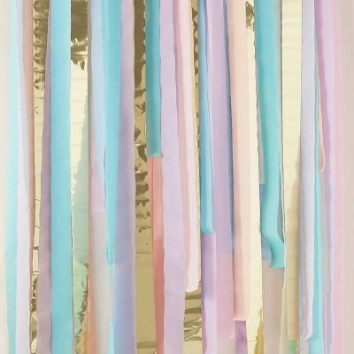 Backdrop Streamer Party Décor Accessory Pastel