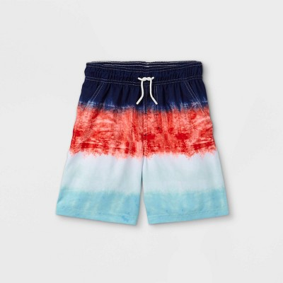 Boys' Colorblock Swim Trunks - Cat & Jack™