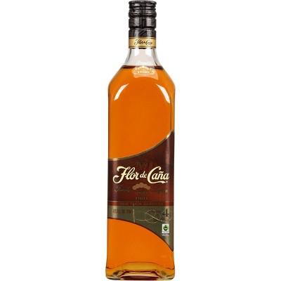 Flor De Caña Añejo Oro Rum - 750ml Bottle