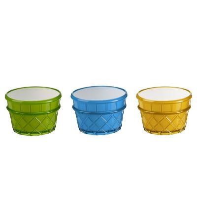 Felli® Ice Cream World Bowl 9oz - Set of 3
