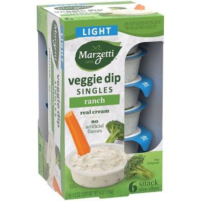 T. Marzetti 100 Calorie Light Ranch Veggie Dip 6pk - 1.5oz
