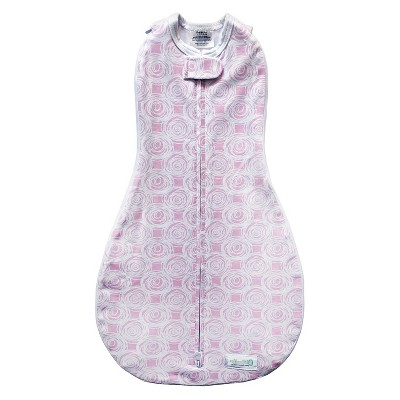 Woombie Grow with Me Swaddle Wrap (3 Stage)- Mod Roses