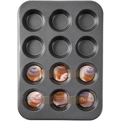 Wilton Ultra Bake Professional 12 Cup Nonstick Muffin Pan