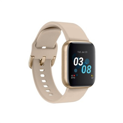 iTouch Air 3 Smartwatch - Gold Case with Beige Strap