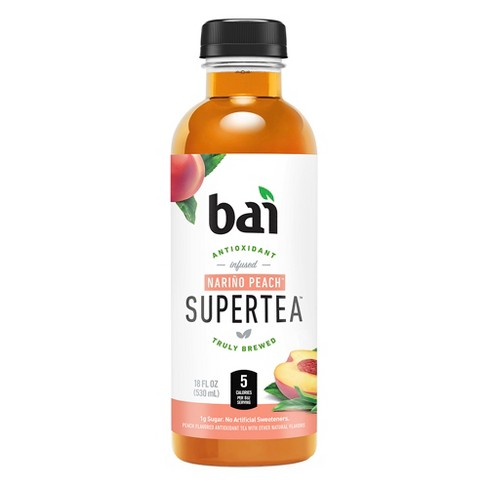Bai Narino Peach Super Tea - 18 fl oz Bottle - image 1 of 2