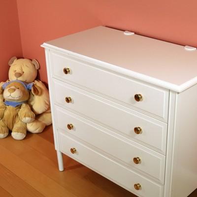 Qdos Zero-Screw Furniture Anti-Tip Kit - Gray