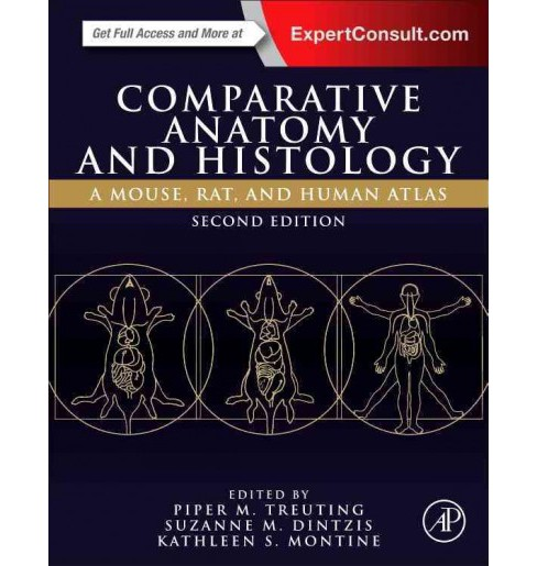 Comparative Anatomy and Histology : A Mouse, Rat, and Human Atlas (Hardcover) - image 1 of 1