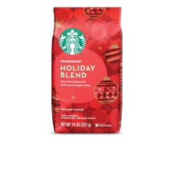 Starbucks Holiday Blend Medium Roast Ground Coffee - 10oz