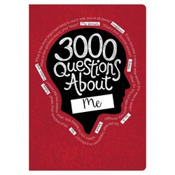 3000 Questions About Me Activity Journal - Piccadilly