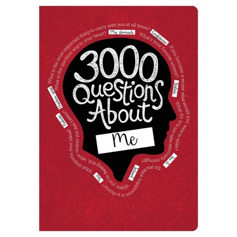 3000 Questions About Me Activity Journal - Piccadilly - image 1 of 4