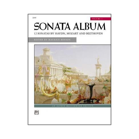 Alfred Sonata Album Volume 1 Intermediate/Early Advanced Piano - image 1 of 1