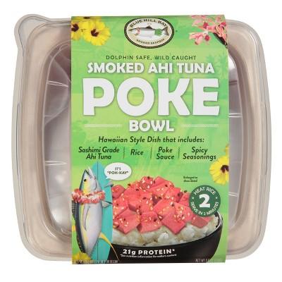 Blue Hill Bay Smoked Ahi Tuna Poke Bowl - 8.8oz