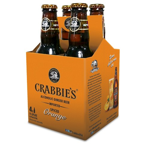 Crabbie's® Spiced Orange Alcoholic Ginger Beer - 4pk / 11oz Bottles - image 1 of 1