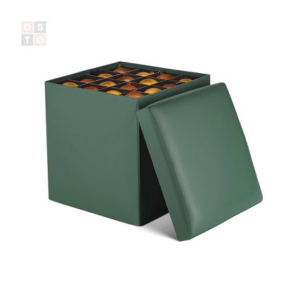 Faux Leather Home Storage Containers, Faux Leather Storage Bin Target