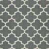 5'x7' Fretwork Design Area Rug Gray - Threshold™ - image 4 of 5