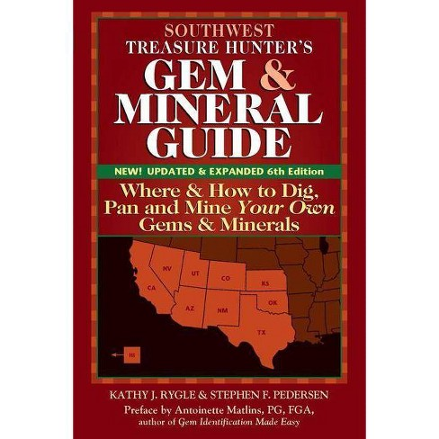 Southwest Treasure Hunter's Gem and Mineral Guide (6th Edition) - 6 Edition (Paperback) - image 1 of 1