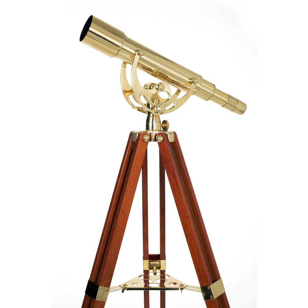 Celestron Ambassador Brass Telescope - Black 50mm