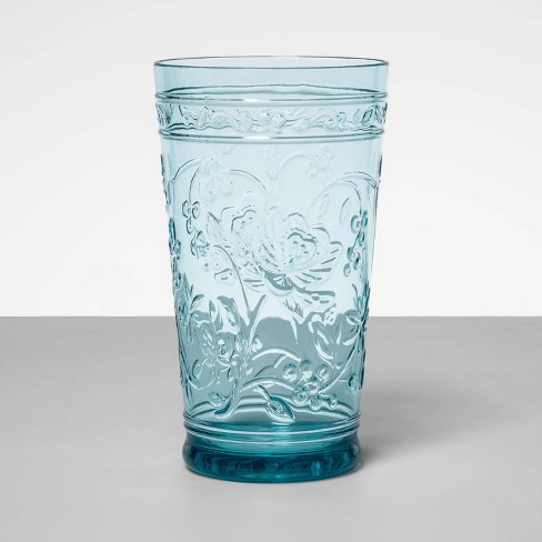 22oz Plastic Floral Embossed Tall Tumbler - Opalhouse™ - image 1 of 4