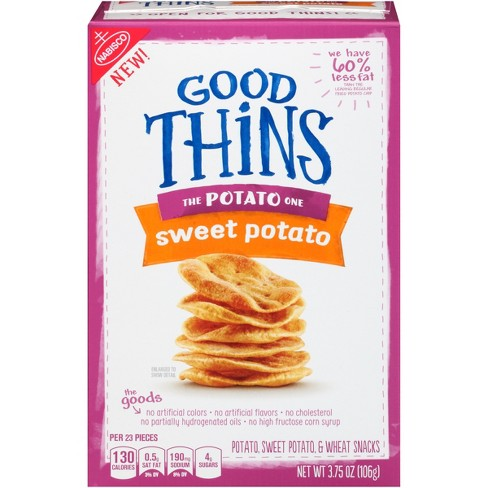 Good Thins: The Potato One - Sweet Potato Crackers - 3.75oz - image 1 of 4