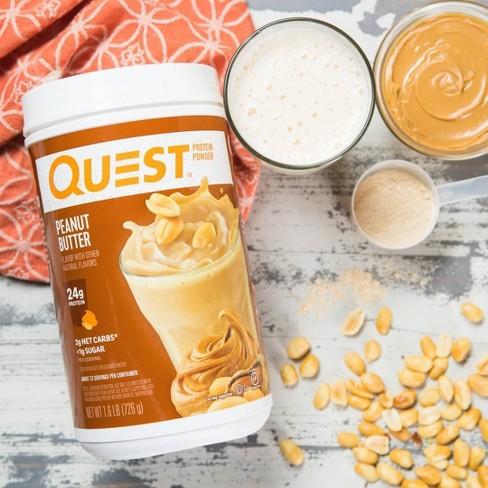 Quest Protein Powder - Peanut Butter - 25 6oz