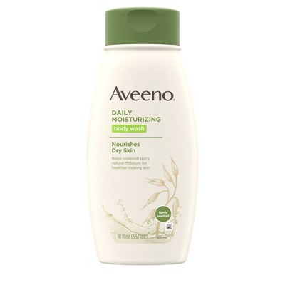 Body Washes & Gels: Aveeno Daily Moisturizing Body Wash