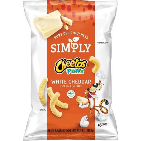 simply cheetos white cheddar puffs 8oz target