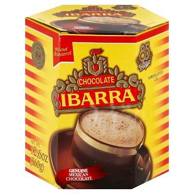 Ibarra Chocolate Genuine Mexican Hot Cocoa -12.6oz