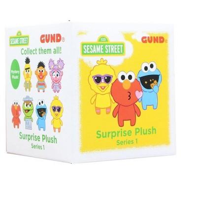 "Enesco Sesame Street Blind Box 3"" Mini Plush Series, One Random"