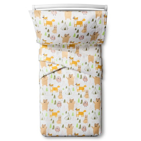 Woodland Whimsy Sheet Set - Toddler - 3 Pc - Multicolor ...