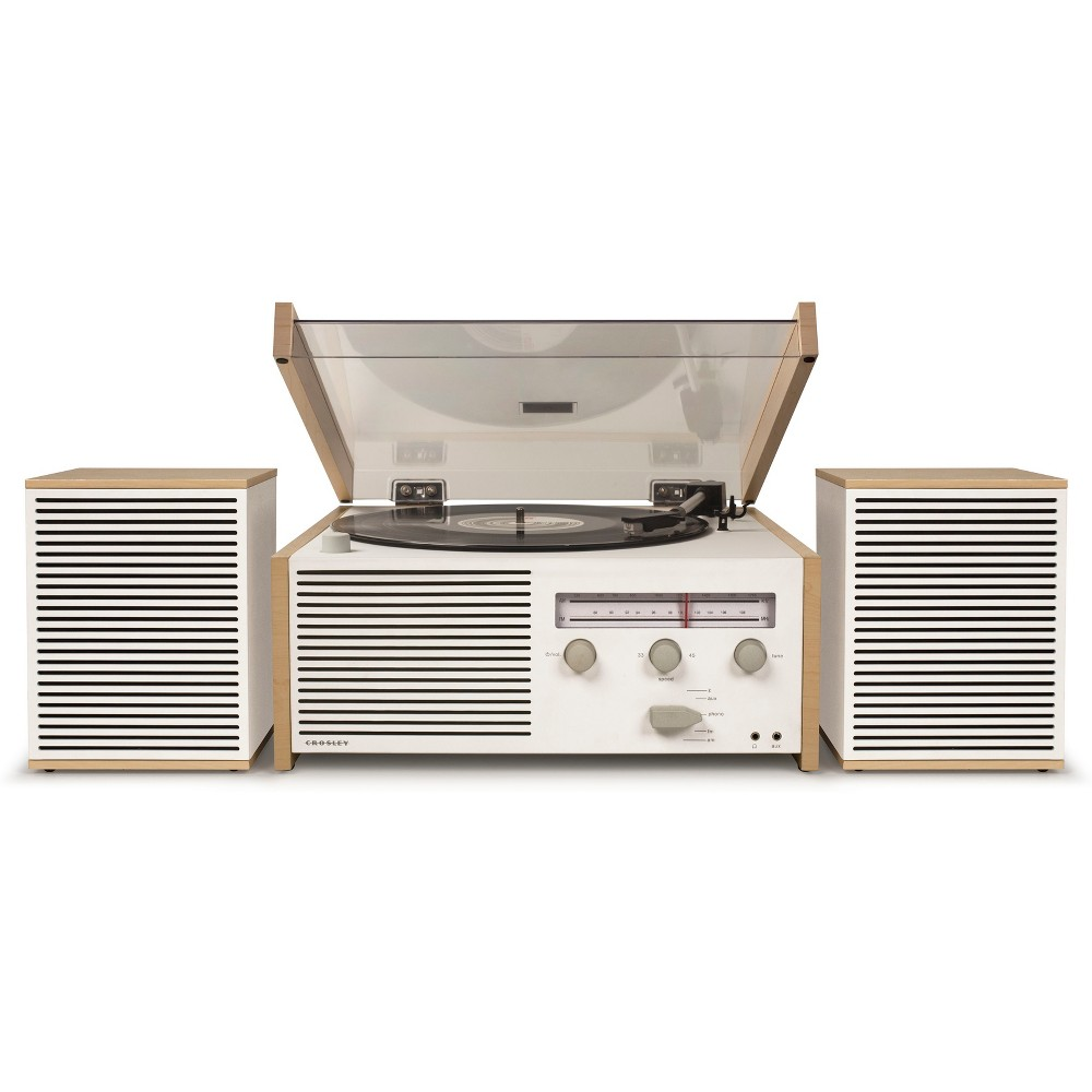 Crosley Switch II Entertainment System, Natural