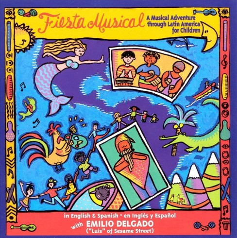 Emilio delgado - Fiesta musical (CD) - image 1 of 1