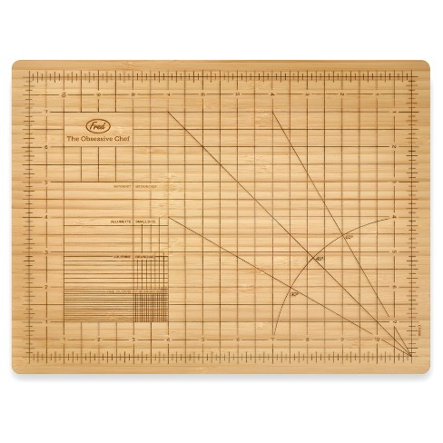 THE OBSESSIVE CHEF™ Cutting Board, brown bamboo - image 1 of 4