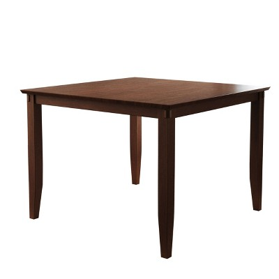Alexander Square Counter Height Wood Dining Table Brown - Abbyson Living