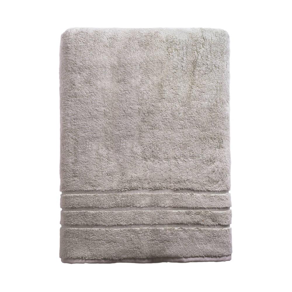 Image of Rayon from Bamboo Bath Sheet Gray - Cariloha