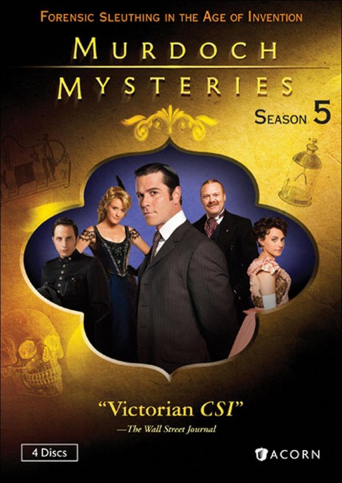 Murdoch mysteries collection:Season 5 (DVD) - image 1 of 1