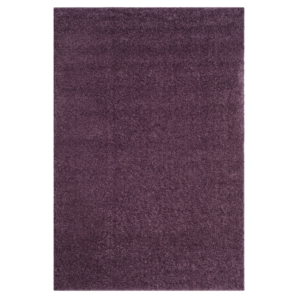 Purple Solid Loomed Area Rug - (8'X10') - Safavieh