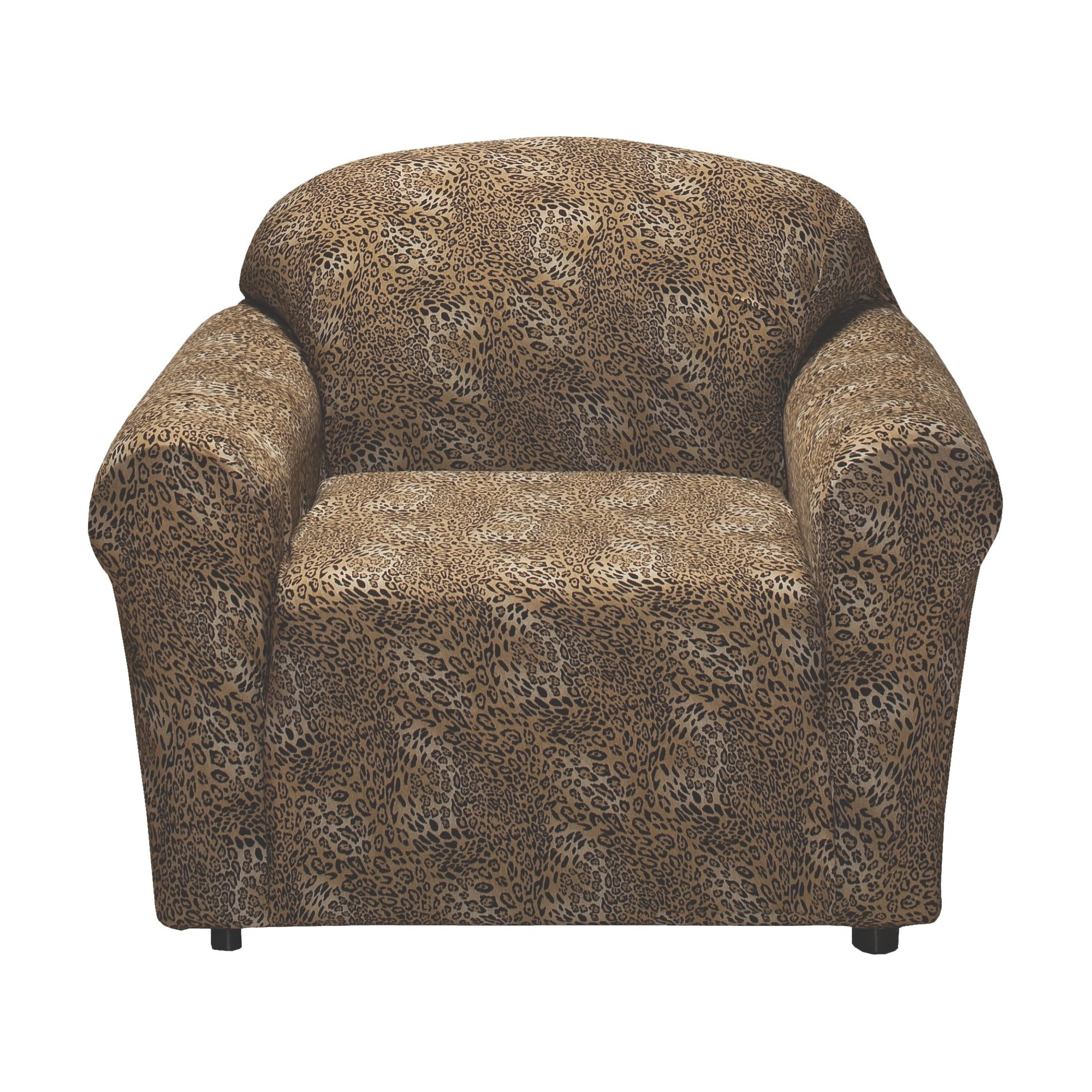 Jersey Leopard Chair Slipcover
