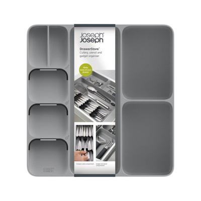 Joseph Joseph DrawerStore Cutlery, Utensil and Gadget Organizer - Gray