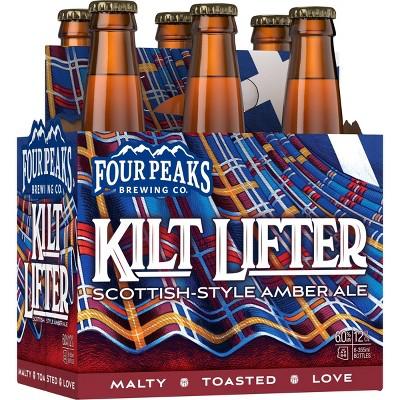 Four Peaks Kilt Lifter Scottish Style Ale Beer - 6pk/12 fl oz Bottles