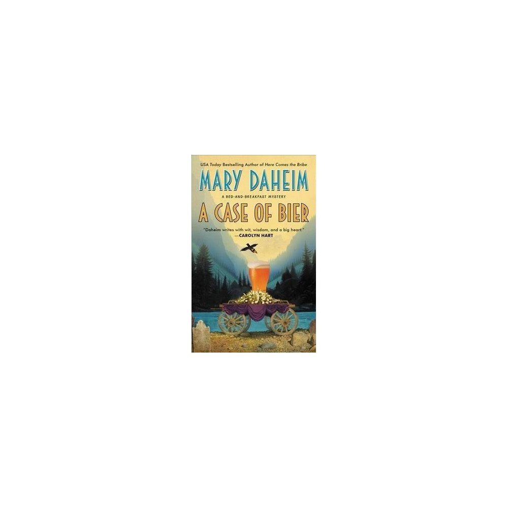 Case of Bier - (Bed-and-breakfast Mysteries) by Mary Daheim (Paperback)