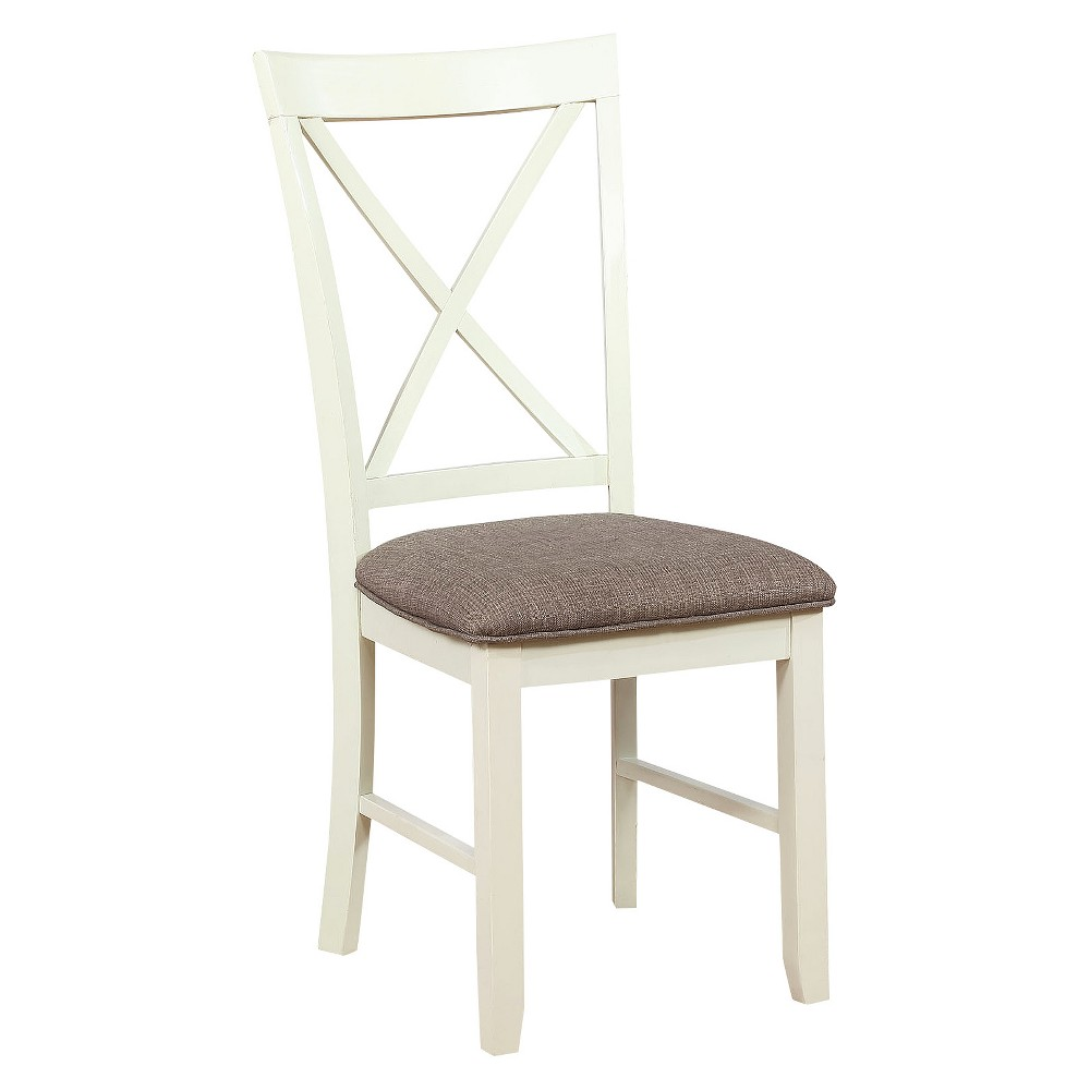 Set of 2 Emma Side Chair White - Powell Company
