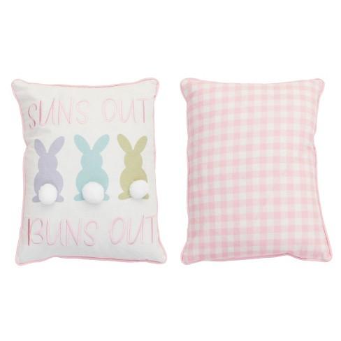 Suns Out Buns Lumbar Throw Pillow - Dcor Therapy - image 1 of 1