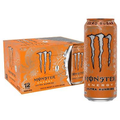 Monster Energy Ultra Sunrise - 12pk/16 fl oz Cans