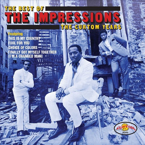 Impressions - Best of the impressions:Curtom years (CD) - image 1 of 1