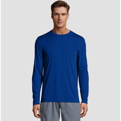 Hanes Men's Long Sleeve CoolDRI Performance T-Shirt